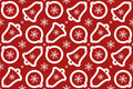 Christmas texture Royalty Free Stock Images
