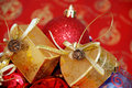 Christmas Theme Decorations Royalty Free Stock Image