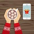 Christmas theme illustration