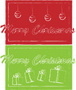 Christmas tickets Royalty Free Stock Photography
