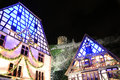 Christmas time in alsace the city of kaysersberg Stock Photos