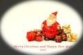 Christmas time and gifts ,christmas card 2017 Royalty Free Stock Photo