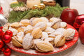 Christmas time home made cookies Royalty Free Stock Photo