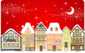 Christmas town Royalty Free Stock Photography