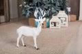 Christmas toy deer