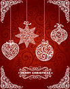 Christmas toys abstract background with Stock Images