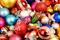 Christmas toys background holiday texture Stock Images