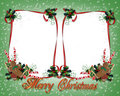 Christmas treats Border Double Royalty Free Stock Image