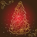 Christmas tree. Stock Images