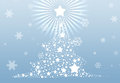Christmas tree 2013 background Royalty Free Stock Images