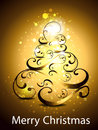 Christmas tree backgorund vector illustration Stock Photo