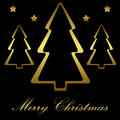 Christmas tree, Background, Holidays Royalty Free Stock Photos