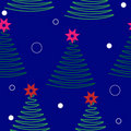 Christmas tree  background.seamless texture Royalty Free Stock Images