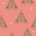 Christmas tree  background.seamless texture. Royalty Free Stock Photos