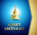 Christmas tree background vector illustration eps Royalty Free Stock Photos