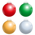 Christmas Tree Balls Red Green...