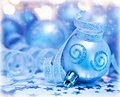 Christmas tree bauble ornament and decoration Royalty Free Stock Photo