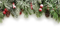 Christmas tree branches background Royalty Free Stock Photo