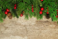 Christmas Tree Branches Backgr...