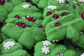 Christmas tree cookies Royalty Free Stock Photo