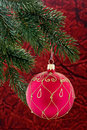Christmas Tree Decoration Stock Photo