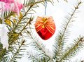 Christmas-tree decoration Royalty Free Stock Photography