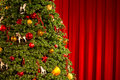 Christmas tree decoration fragment of the Royalty Free Stock Image