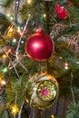 Christmas-tree decorations Stock Photo