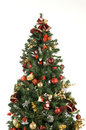 Christmas Tree Detail Royalty Free Stock Photos