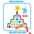 Christmas Tree in the Doldrums Royalty Free Stock Photo