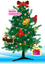 Christmas Tree_eps Stock Images