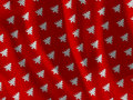 Christmas tree fabric texture Stock Images