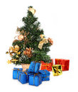 Christmas tree and gifts #2 Stock Images