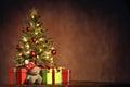 Vianočný stromček darčeky