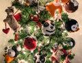 Christmas Tree Handmade Animal...
