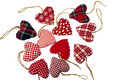 Christmas Tree Hearts Decorations Royalty Free Stock Photo