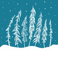 Christmas Tree Holidays Illustration Royalty Free Stock Photo