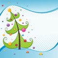 Christmas tree illustration Royalty Free Stock Photos