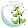 Christmas tree illustration Royalty Free Stock Photography