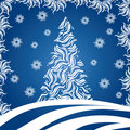 Christmas Tree (illustration) Stock Photography