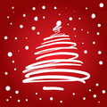 Christmas Tree (illustration) Royalty Free Stock Photo