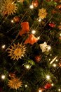 Christmas Tree Lights Royalty Free Stock Images