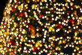 Christmas tree lights Stock Photography