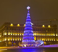 Christmas tree, Moscow Royalty Free Stock Photography
