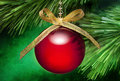 Christmas Tree Ornament Background Royalty Free Stock Photo