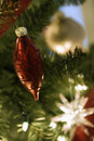 Christmas tree ornaments. Stock Photos