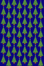 Christmas Tree Pattern Royalty Free Stock Photography