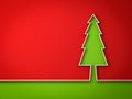Christmas tree red and green background for christmas decoration Royalty Free Stock Photo