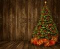 Christmas Tree Room Background...