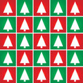 Christmas tree seamless pattern background. Stock Image